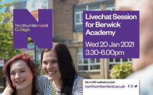 Northumberland College Live Chat Session
